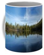 Lassen Summit Lake Reflections Coffee Mug