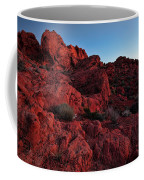 Last Light In Valley Of Fire Coffee Mug