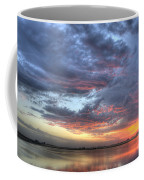 Last Light Over The Lake Coffee Mug