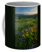 Last Light Over The Wenas Coffee Mug