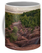 Last Look At The Badlands Coffee Mug