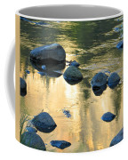 Late Afternoon Reflections In Merced River In Yosemite Valley Coffee Mug