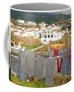 Laundry Day In Azores Coffee Mug