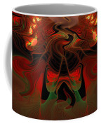Red Hot Lava Coffee Mug