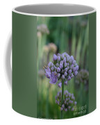 Lavender Flowering Onion Coffee Mug