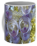 Lavender Wine Glasses Coffee Mug