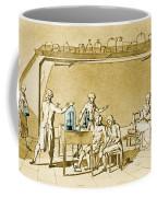 Lavoisier Experimenting Coffee Mug