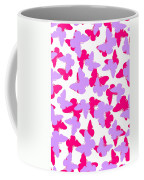 Layered Butterflies  Coffee Mug by Louisa Knight