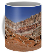 Layered Cliffs Coffee Mug