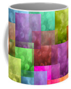 Layered Tiles Abstract Coffee Mug