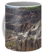 Layers Of Rock In The Badlands Coffee Mug