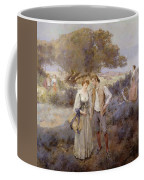 Le Retour De Cythere Coffee Mug by William Lee