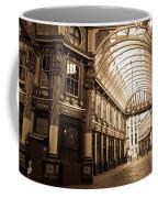 Leadenhall Market London Sepia Toned Image Coffee Mug
