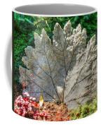 Leaf Art Coffee Mug