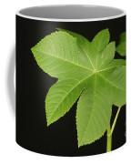 Leaf Of Castor Bean Plant Coffee Mug