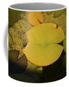 Leaf On A Pond Coffee Mug