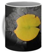 Leaf On A Pond II Coffee Mug