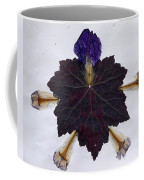 Leaf With Petals Coffee Mug