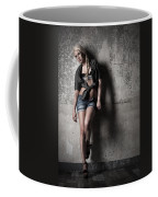 Lean Against The Wall Coffee Mug
