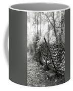 Leaning Fence Coffee Mug