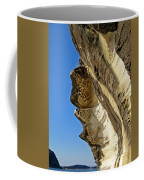 Leaning Rock Coffee Mug by Kaye Menner