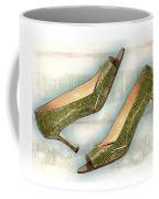 Leapin Green Lizards Pumps Coffee Mug