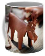Leather Elk  Coffee Mug