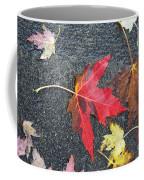 Leave The Leaves Coffee Mug