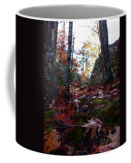 Leaves In The Forest Coffee Mug