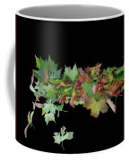 Leaves On Sidewalk Coffee Mug