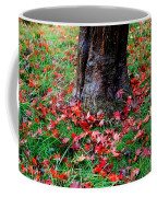 Leaves On The Ground Coffee Mug