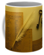 Ledgers And Keys Coffee Mug