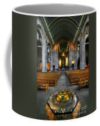 Leeds Cathedral Baptismal Font And Nave Coffee Mug