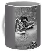 Left On The Curb Bw Coffee Mug