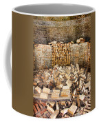 Left Over Brick In Antique Brick Kiln Coffee Mug