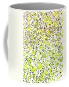 Lemon Lime Abstract Coffee Mug