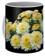 Lemon Meringue Chrysanthemums Coffee Mug