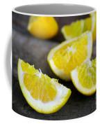 Lemon Quarters Coffee Mug