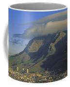 Lenticular Cloud Over Table Mountain Coffee Mug