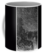 Leonid Meteor Shower, 1833 Coffee Mug by Granger