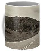 Let It Roll Monochrome Coffee Mug by Steve Harrington