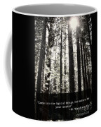 Let Nature Be Your Teacher Coffee Mug