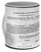 Letter Of Marque, 1812 Coffee Mug