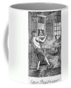 Letter Press Printer, 1807 Coffee Mug