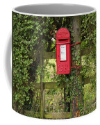 Letterbox In A Hedge Coffee Mug