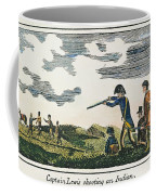 Lewis & Clark: Native American, 1811 Coffee Mug