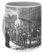 Liberating Slaves, 1864 Coffee Mug