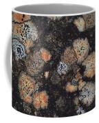 Lichen Abstract Coffee Mug