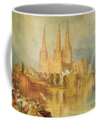 Lichfield Coffee Mug by Joseph Mallord William Turner