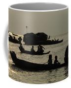 Life On Lake Tonel Sap Coffee Mug